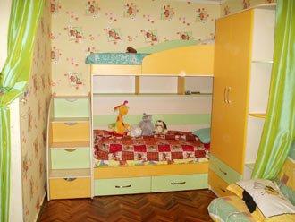детская в 2 цвета, кровать 2-х ярусная