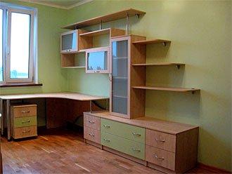 комната для подростка с ламинированного дсп
