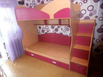 изготовление детской кровати