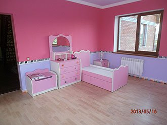 Детская комната под заказ