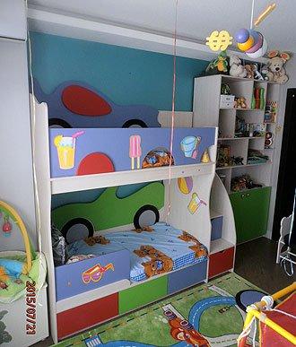 Изготовление под заказ детской комнаты