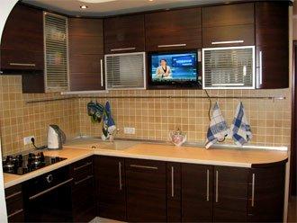 Кухня с ламинированного дсп